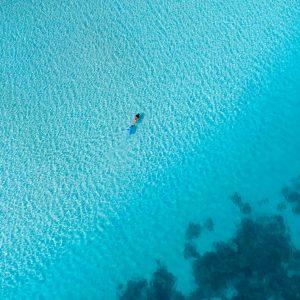 Coral Bay snorkeler